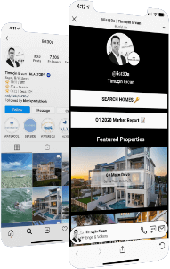 Real Estate Agent Website and Quick Links for Your Social Media Link In Bio