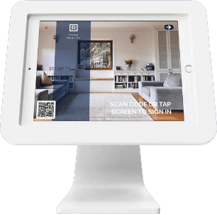 iPad, iPhone, Android and Web Apps for Open House Touch Free Signin