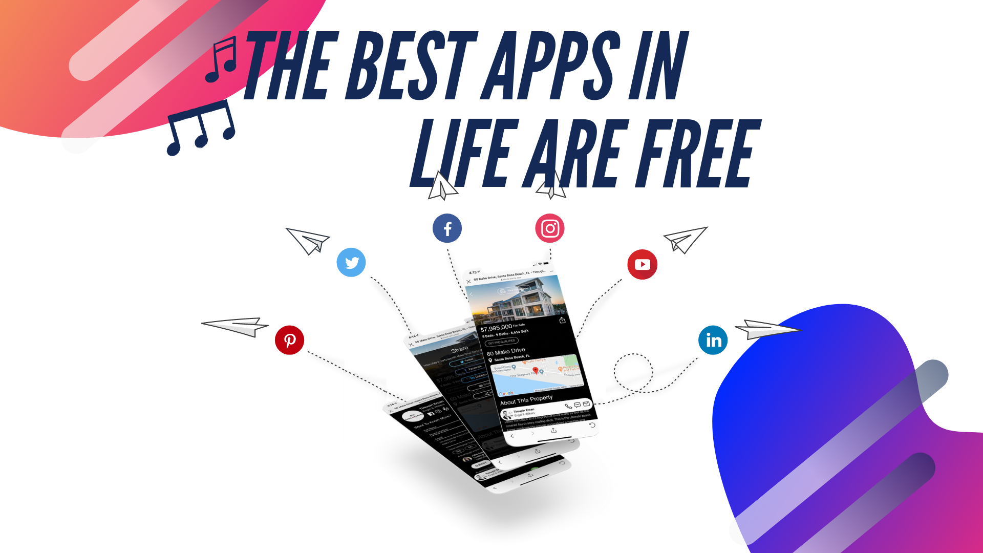 the best apps are free
